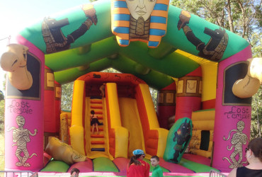Connections Community Development: Lost Temple Jumping Castle