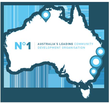 Connections Community Development - Map of Australia